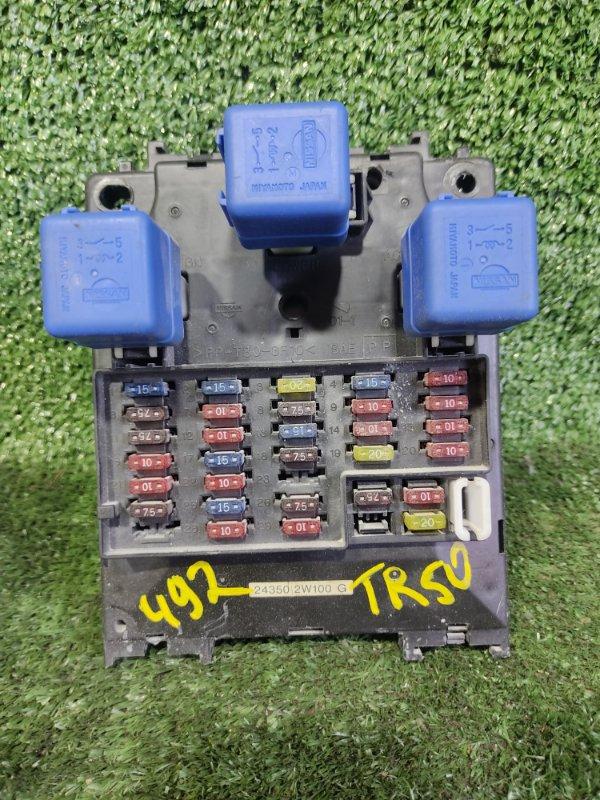 Блок предохранителей Nissan Terrano TR50 ZD30DDTI 2000 (б/у)