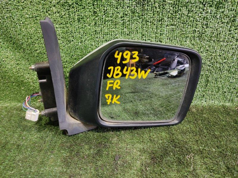 Зеркало Suzuki Jimny Wide JB43W M13A 2004 переднее правое (б/у)