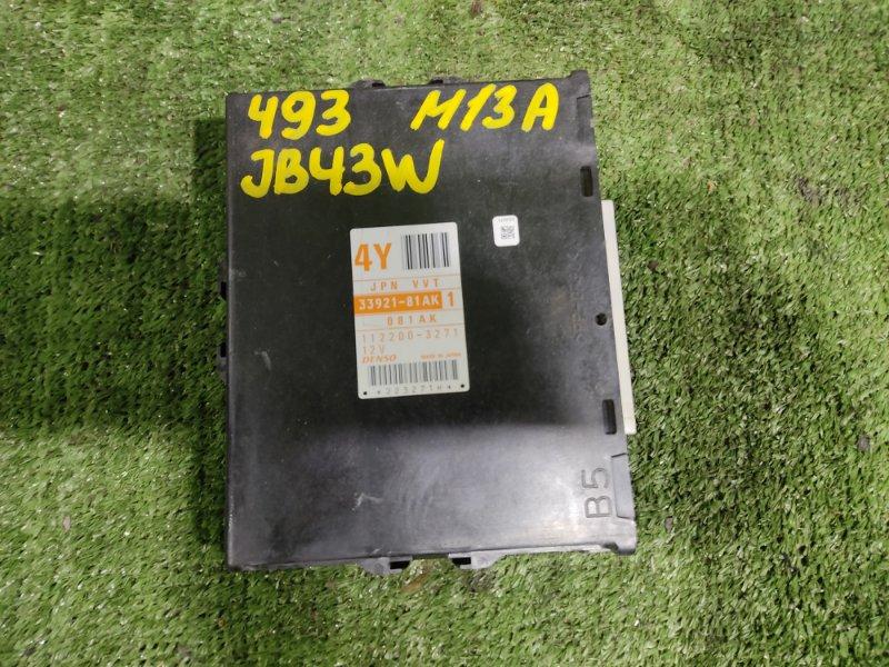 Блок управления efi Suzuki Jimny Wide JB43W M13A 2004 (б/у)