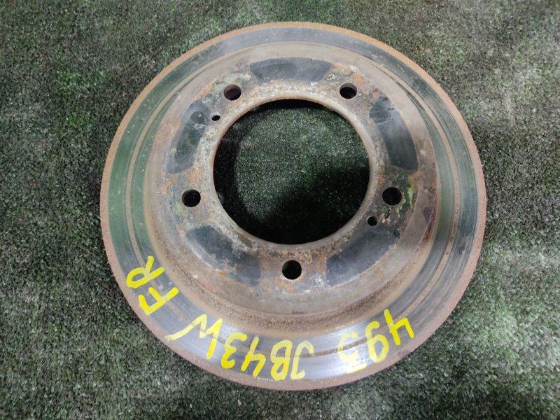 Тормозной диск Suzuki Jimny Wide JB43W M13A 2004 передний правый (б/у)