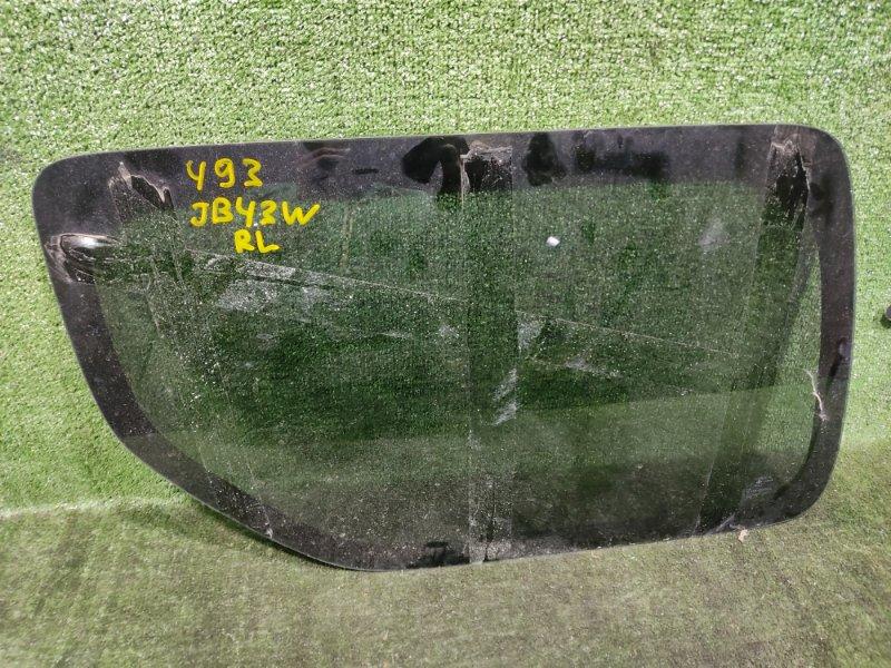 Стекло собачника Suzuki Jimny Wide JB43W M13A 2004 заднее левое (б/у)