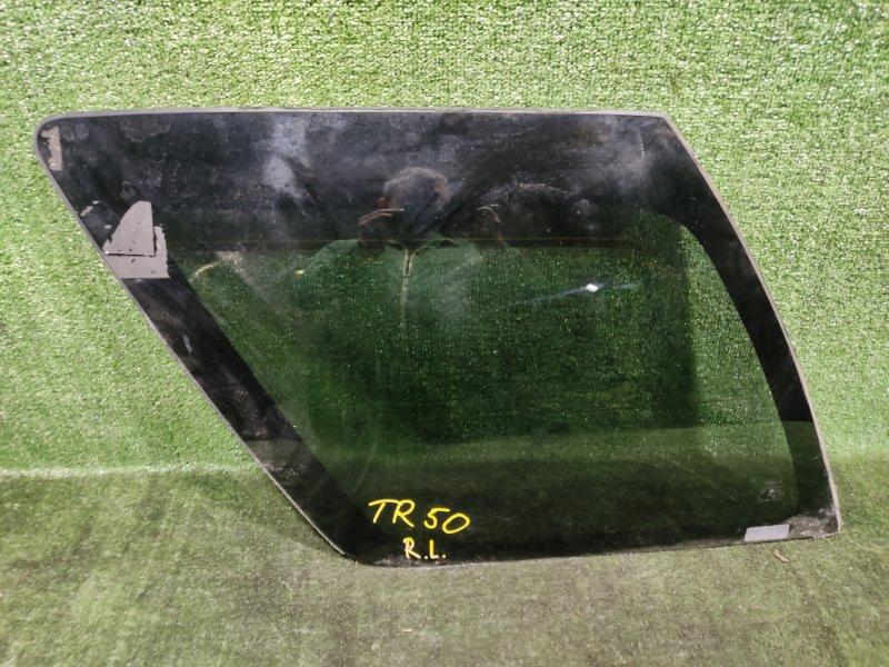 Стекло собачника Nissan Terrano TR50 ZD30DDTI 2000 заднее левое (б/у)