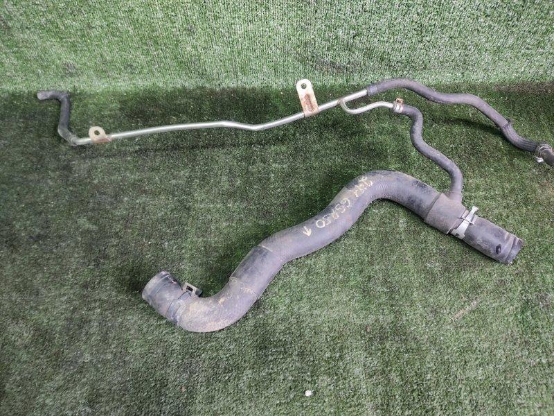 Патрубок радиатора Toyota Estima GSR50 2GRFE 2006 (б/у)