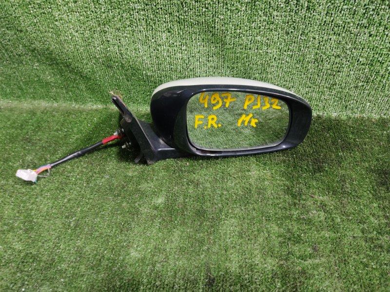 Зеркало Nissan Teana PJ32 VQ35DE 2010 переднее правое (б/у)