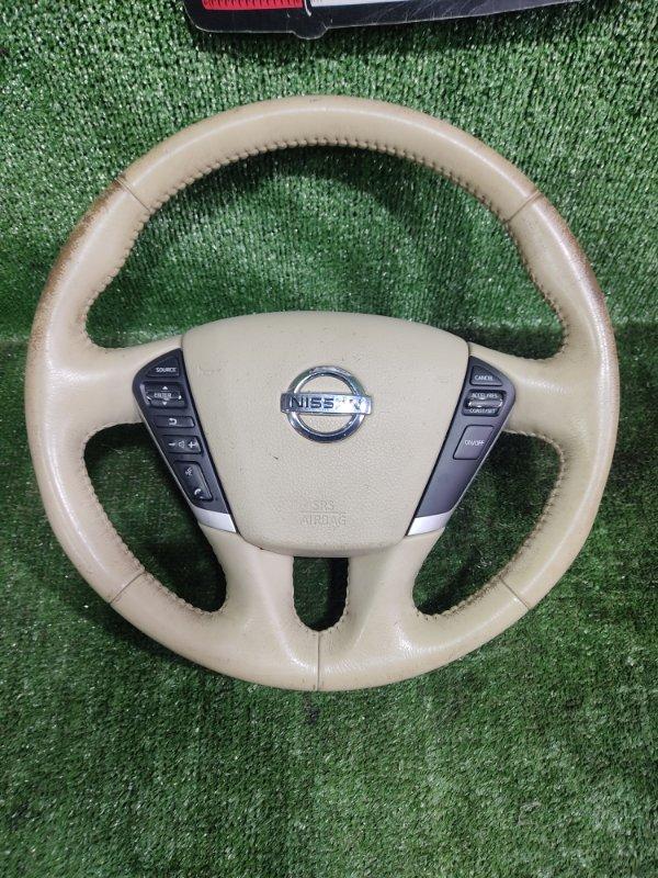 Руль с airbag Nissan Teana PJ32 VQ35DE 2010 (б/у)