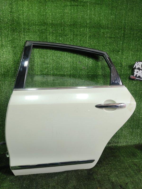 Дверь Nissan Teana PJ32 VQ35DE 2010 задняя левая (б/у)