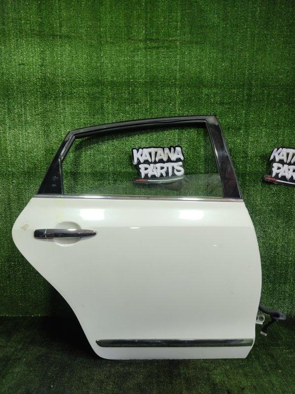 Дверь Nissan Teana PJ32 VQ35DE 2010 задняя правая (б/у)