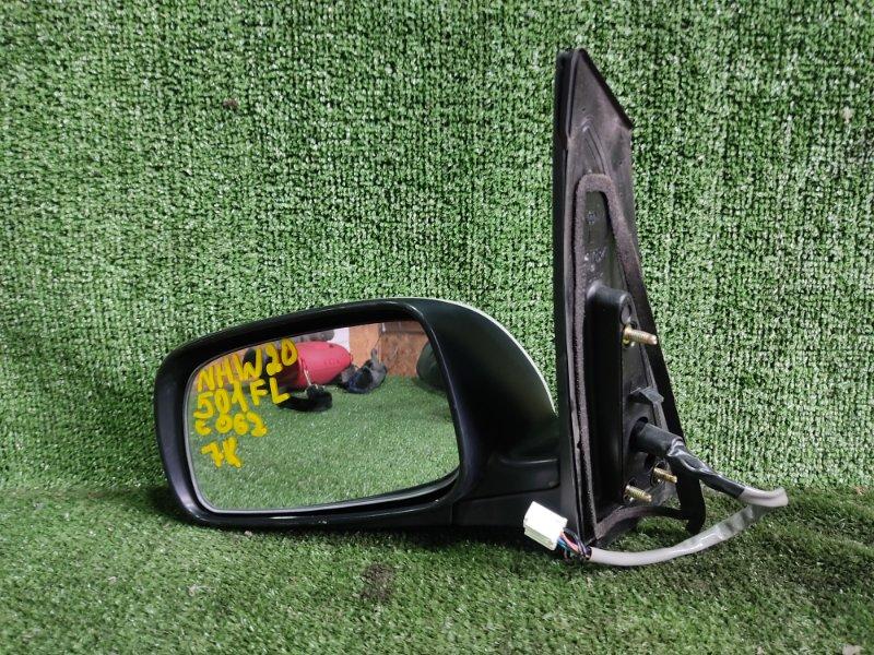 Зеркало Toyota Prius NHW20 1NZFXE 2004 переднее левое (б/у)