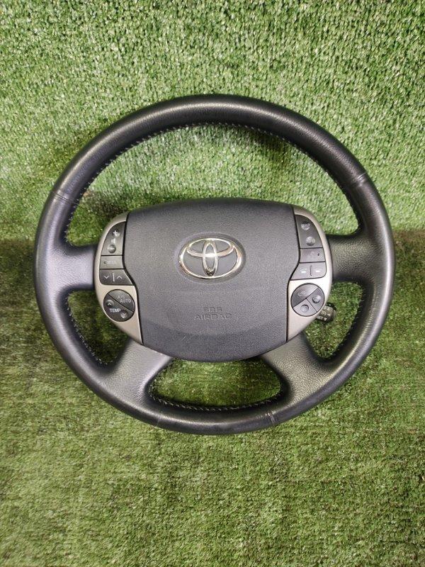 Руль с airbag Toyota Prius NHW20 1NZFXE 2004 (б/у)