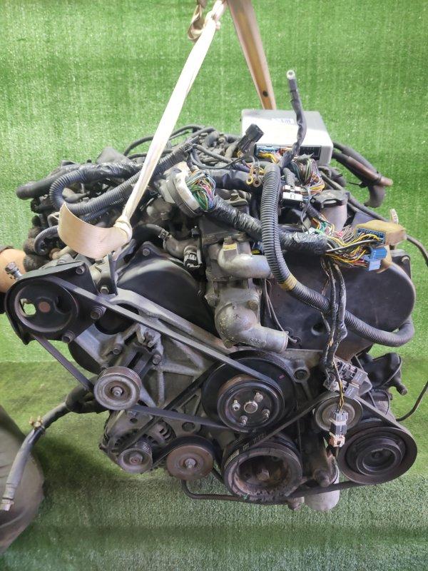 Двигатель Mitsubishi Pajero V45W 6G74 1997 (б/у)