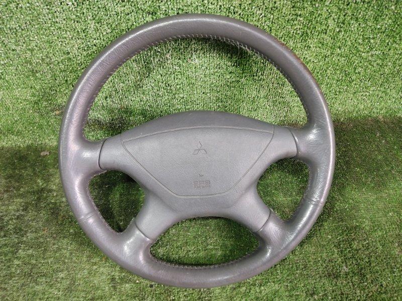 Руль с airbag Mitsubishi Challenger K99W 6G74 1998 (б/у)