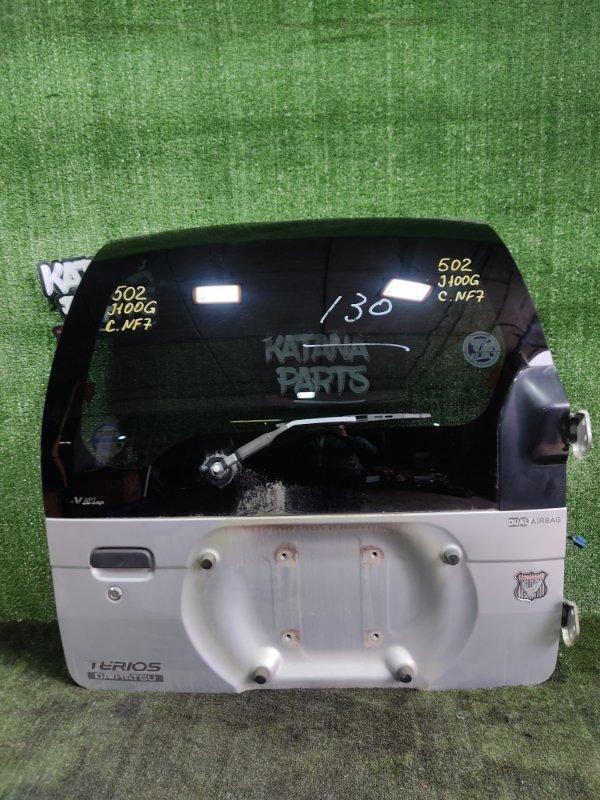 Дверь 5-я Daihatsu Terios J100G HCEJ 1998 (б/у)