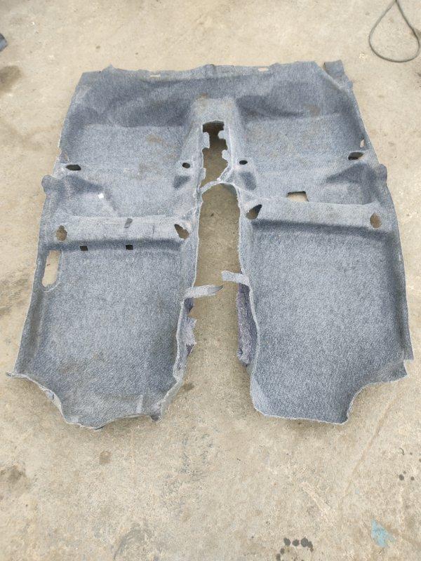 Ковер пола Toyota Vitz NSP135 1NRFE 2012 (б/у)