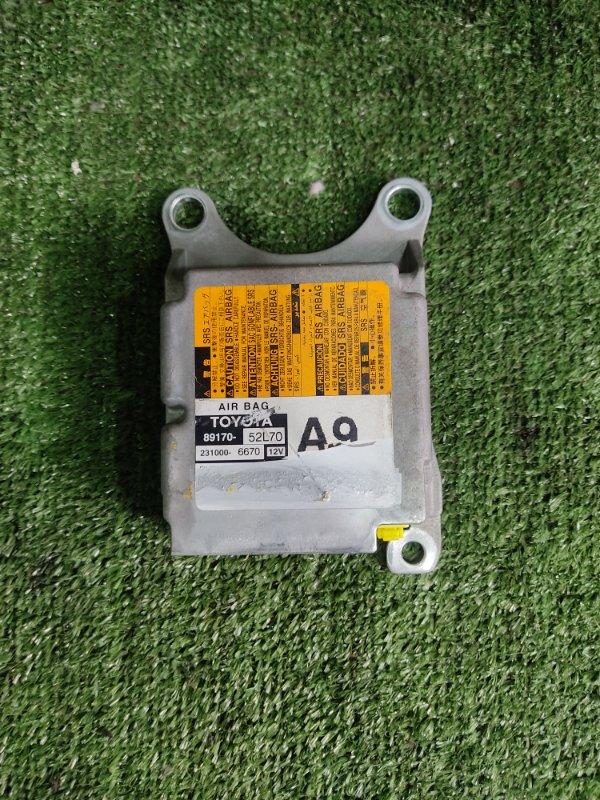 Блок управления airbag Toyota Vitz NSP135 1NRFE 2012 (б/у)