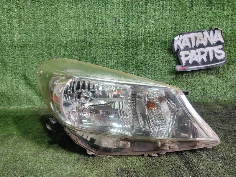 Фара Toyota Vitz NSP135 1NRFE 2012 передняя правая (б/у)