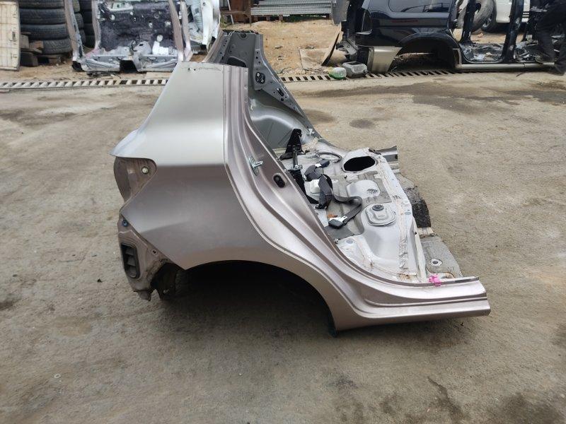 Крыло Toyota Vitz NSP135 1NRFE 2012 заднее правое (б/у)