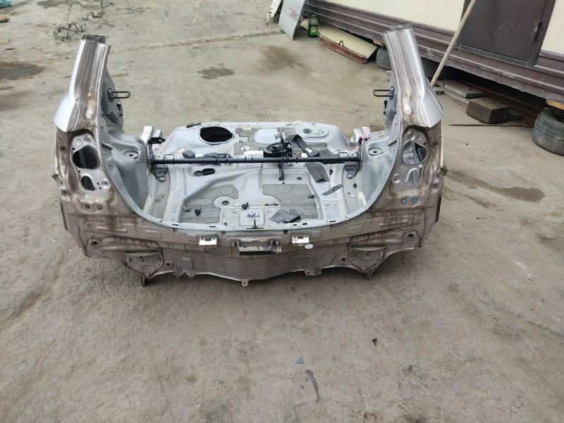 Задняя часть а/м Toyota Vitz NSP135 1NRFE 2012 (б/у)