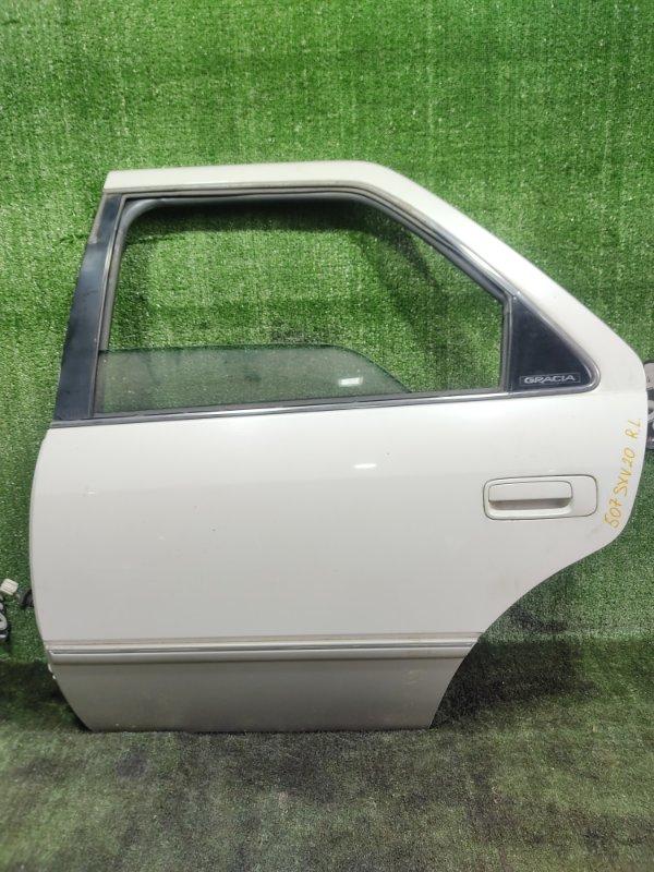 Дверь Toyota Camry Gracia SXV20 5SFE 1998 задняя левая (б/у)