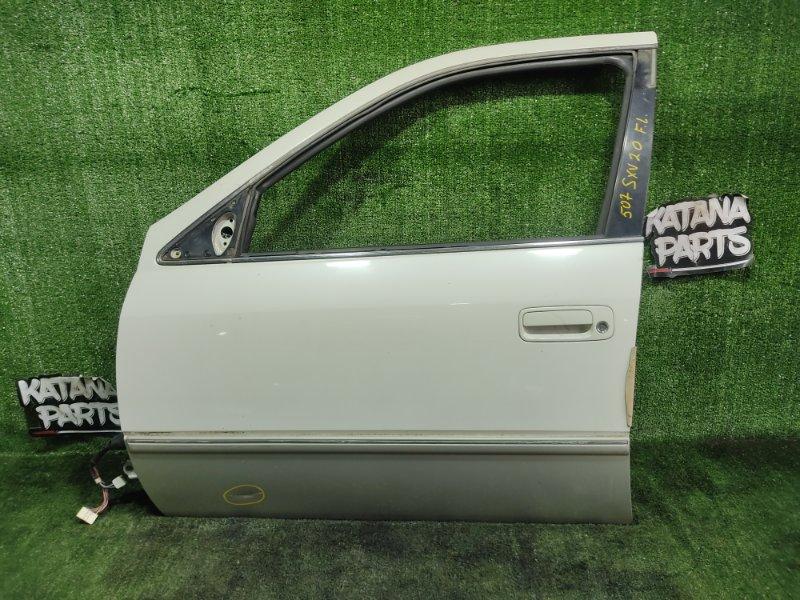 Дверь Toyota Camry Gracia SXV20 5SFE 1998 передняя левая (б/у)