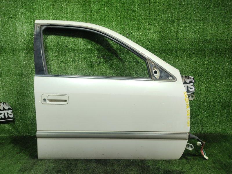 Дверь Toyota Mark Ii Qualis SXV20 5SFE 1998 передняя правая (б/у)