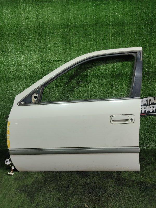 Дверь Toyota Mark Ii Qualis SXV20 5SFE 1998 передняя левая (б/у)