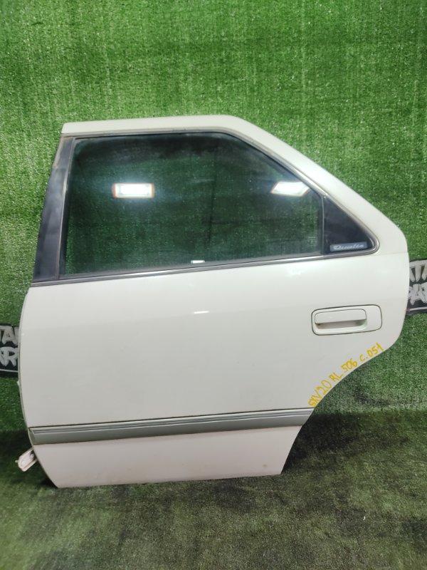Дверь Toyota Mark Ii Qualis SXV20 5SFE 1998 задняя левая (б/у)