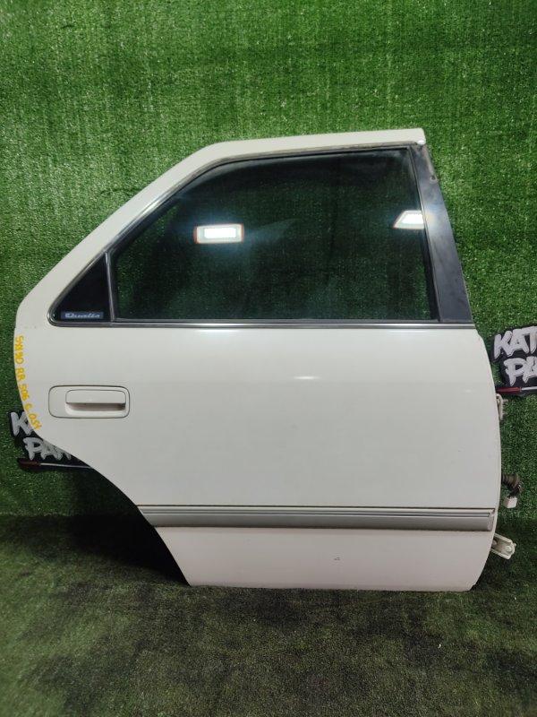 Дверь Toyota Mark Ii Qualis SXV20 5SFE 1998 задняя правая (б/у)