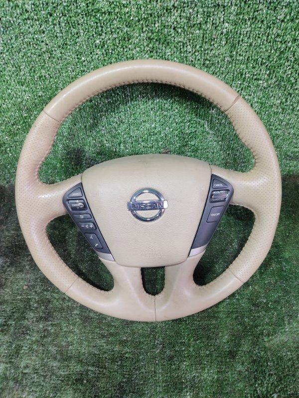 Руль с airbag Nissan Murano PNZ51 VQ35DE 2008 (б/у)
