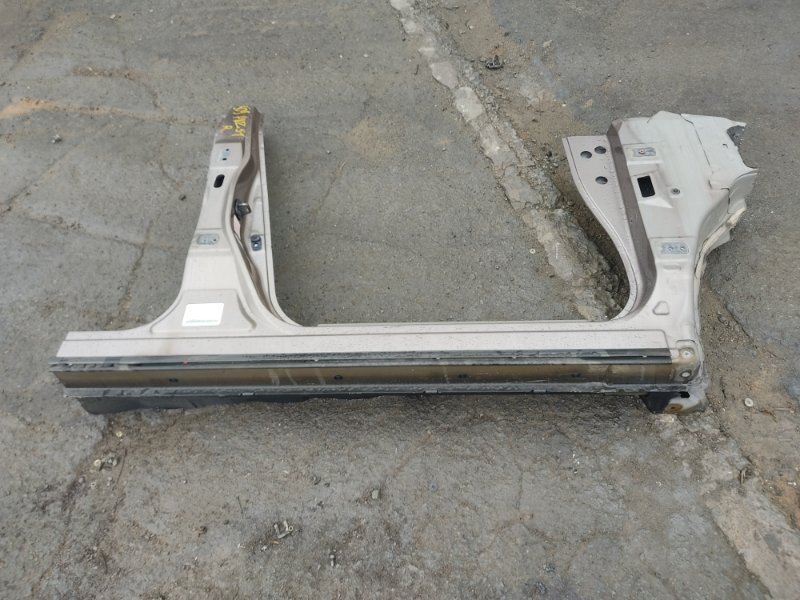 Порог Nissan Murano PNZ51 VQ35DE 2008 передний правый (б/у)