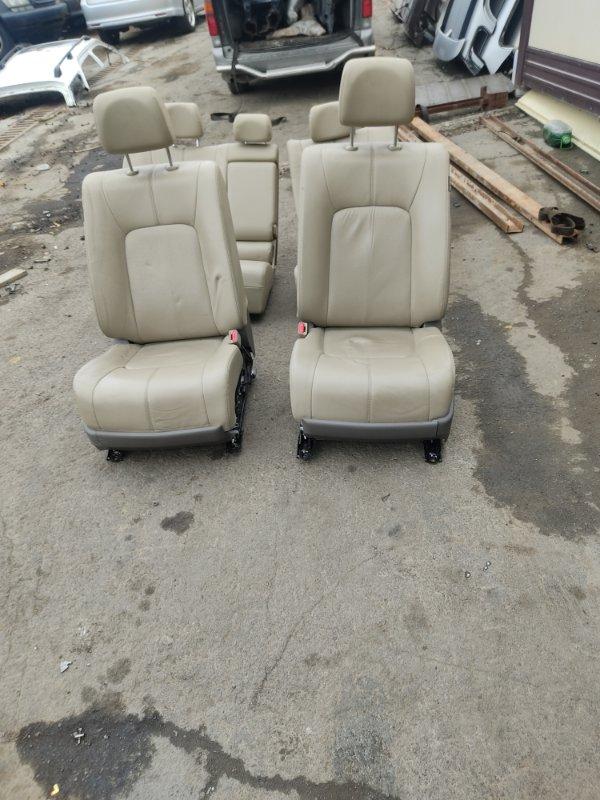 Сидения комплект Nissan Murano PNZ51 VQ35DE 2008 (б/у)