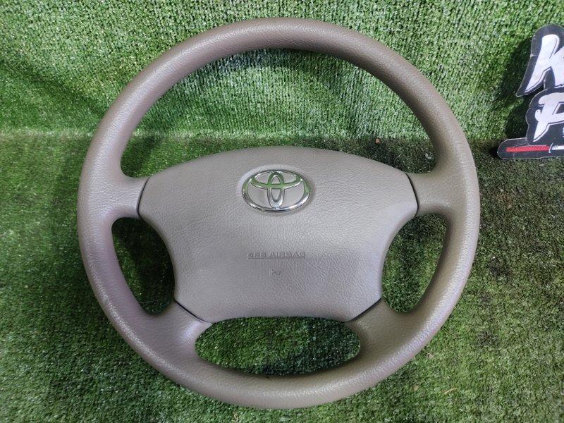 Руль с airbag Toyota Ipsum ACM21 2AZFE 2006 (б/у)