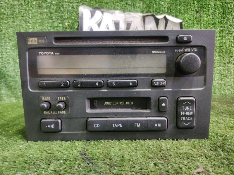 Магнитофон Toyota Crown JZS155 2JZGE 1996 (б/у)
