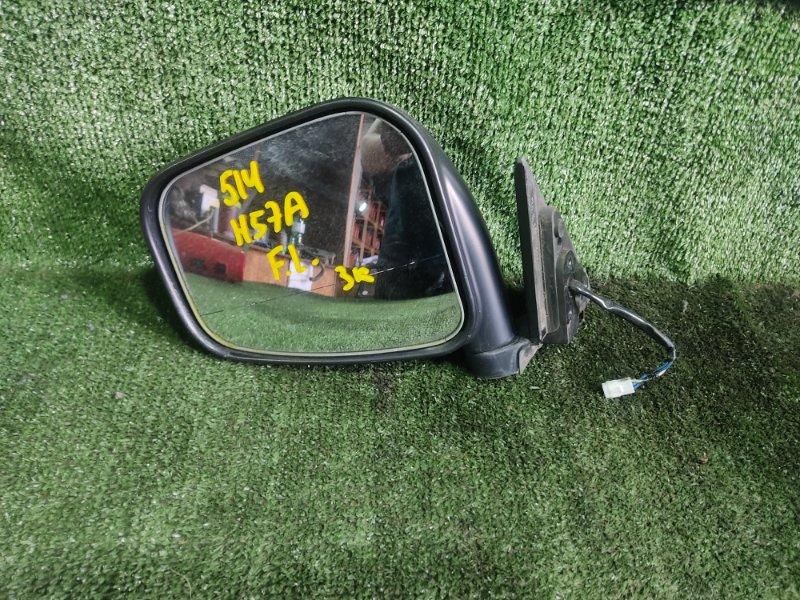 Зеркало Mitsubishi Pajero Junior H57A 4A31 1996 переднее левое (б/у)