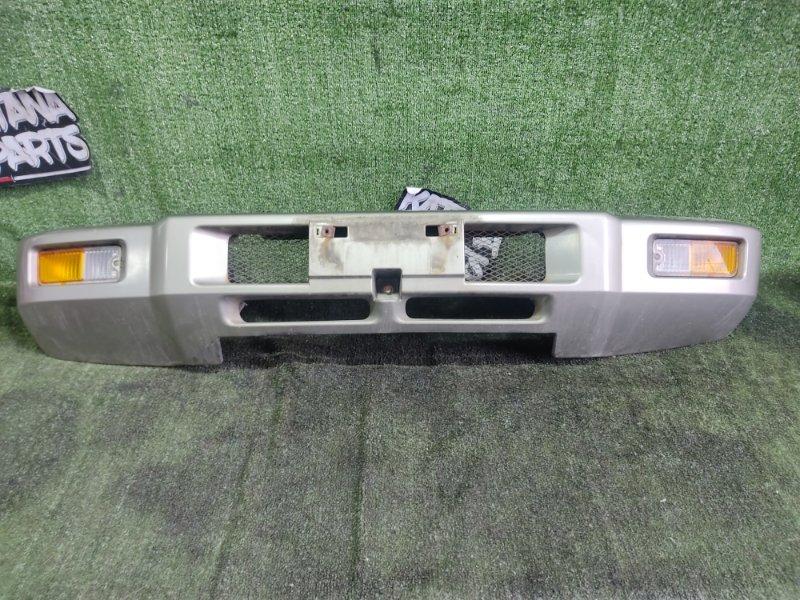 Бампер Mitsubishi Pajero Junior H57A 4A31 1996 передний (б/у)