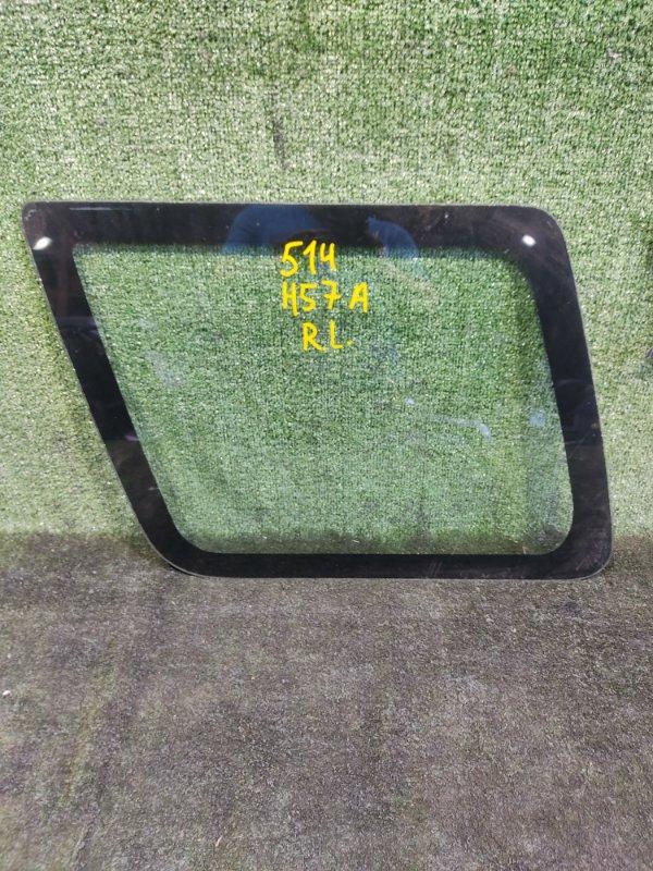 Стекло собачника Mitsubishi Pajero Junior H57A 4A31 1996 заднее левое (б/у)