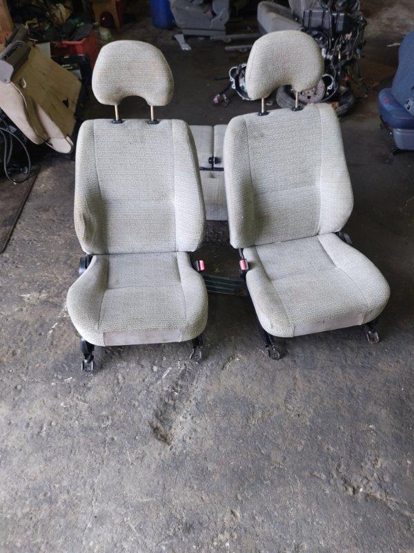 Сидения комплект Mitsubishi Pajero Junior H57A 4A31 1996 (б/у)