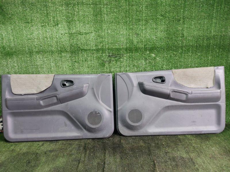 Обшивка дверей Mitsubishi Pajero Junior H57A 4A31 1996 (б/у)
