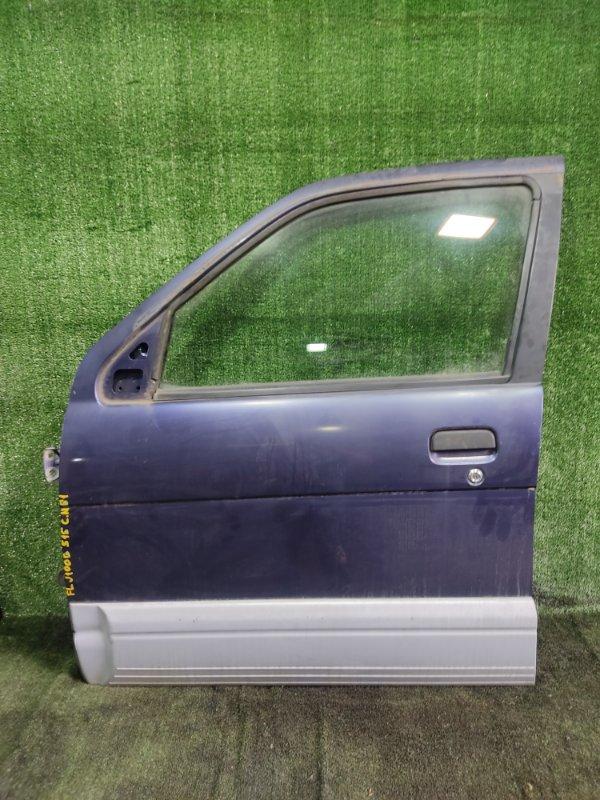 Дверь Daihatsu Terios J100G HCEJ 1997 передняя левая (б/у)