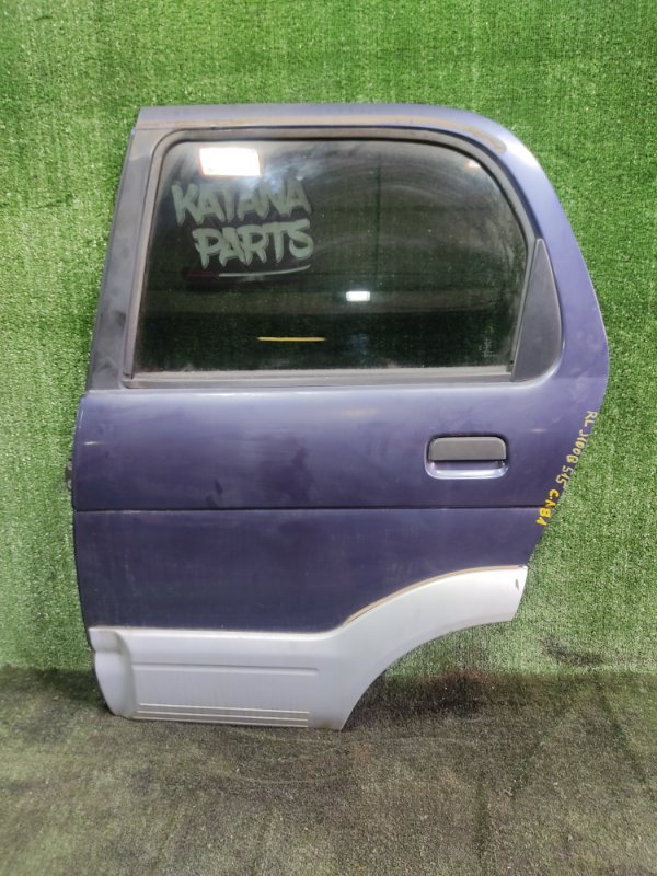 Дверь Daihatsu Terios J100G HCEJ 1997 задняя левая (б/у)