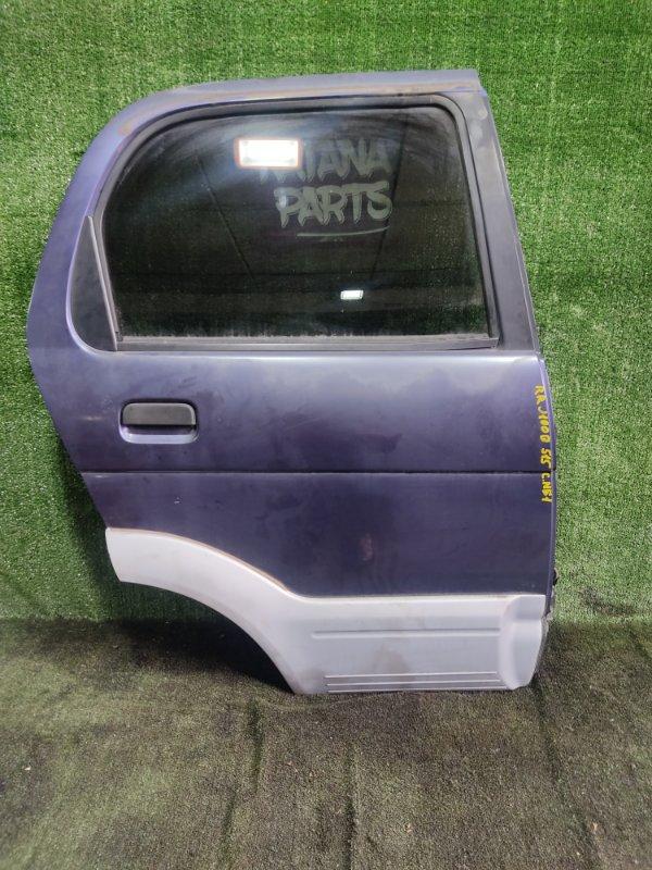 Дверь Daihatsu Terios J100G HCEJ 1997 задняя правая (б/у)