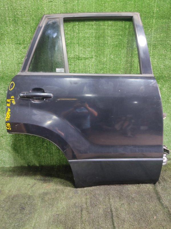 Дверь Suzuki Escudo TD54W J20A 2006 задняя правая (б/у)