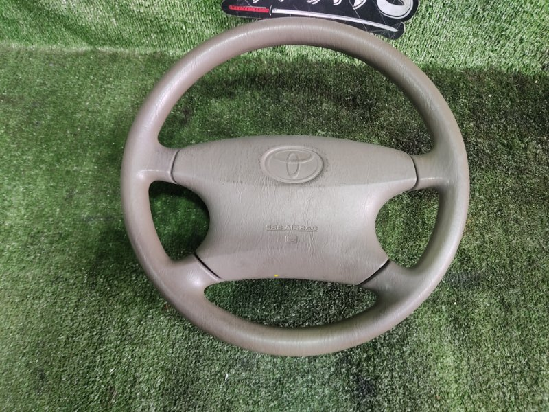 Руль с airbag Toyota Corolla NZE121 1NZFE 2002 (б/у)