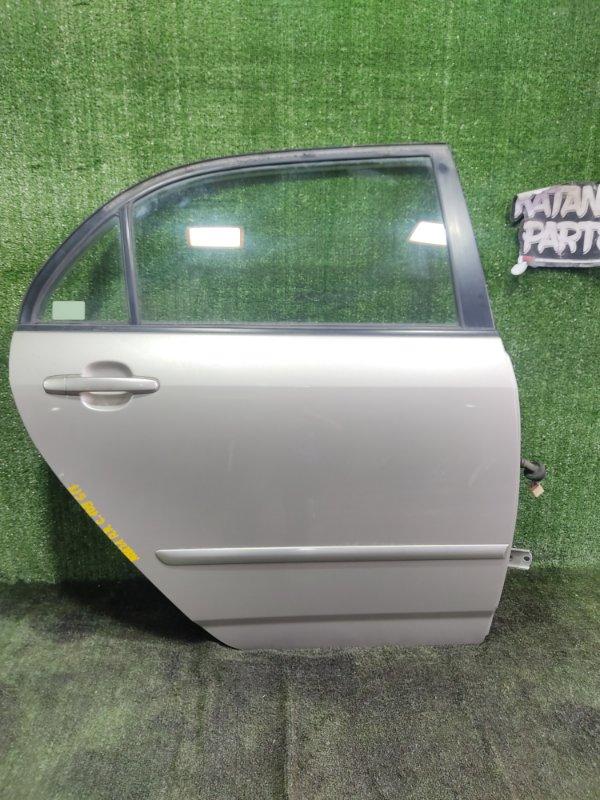 Дверь Toyota Corolla NZE121 1NZFE 2002 задняя правая (б/у)