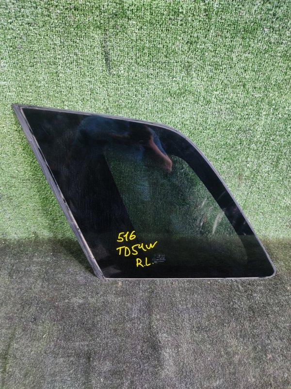 Стекло собачника Suzuki Escudo TD54W J20A 2006 заднее левое (б/у)