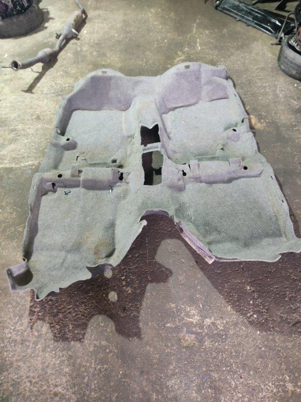 Ковер пола Toyota Prius NHW20 1NZFXE 2004 (б/у)
