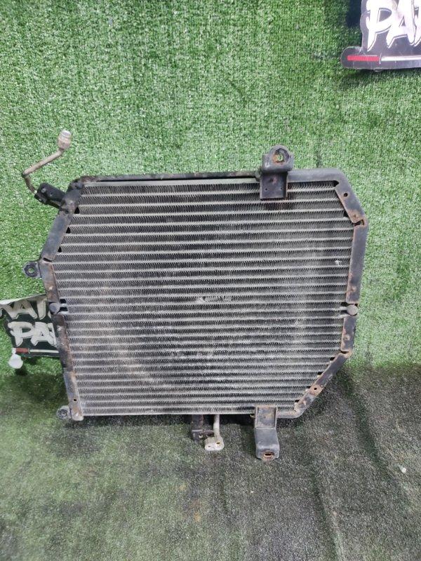 Радиатор кондиционера Toyota Hiace KZH106W 1KZTE 1997 передний (б/у)