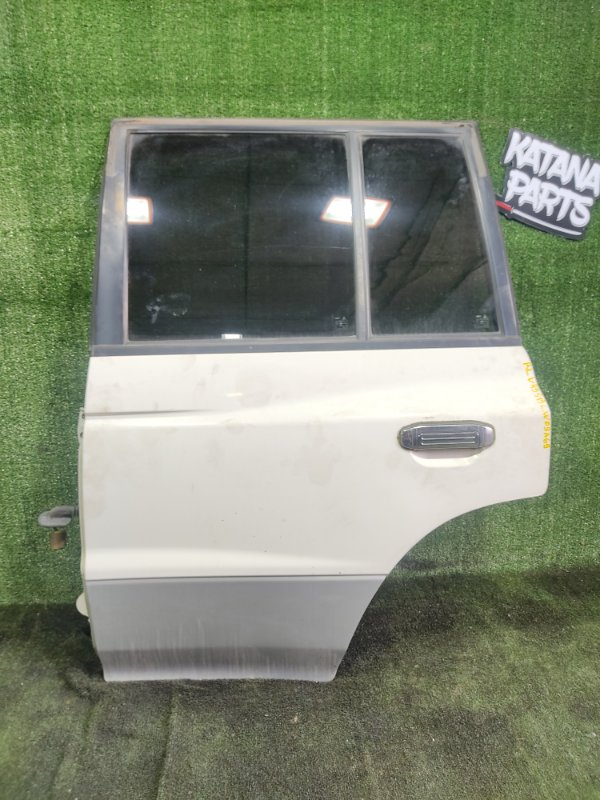 Дверь Mitsubishi Pajero V45W 6G74 1997 задняя левая (б/у)