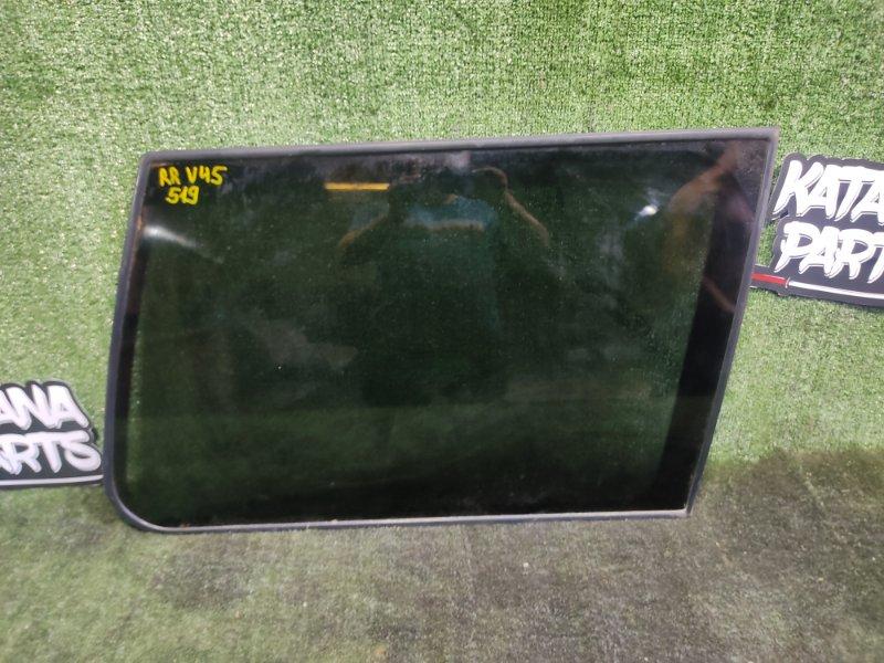 Стекло собачника Mitsubishi Pajero V45W 6G74 1997 заднее правое (б/у)