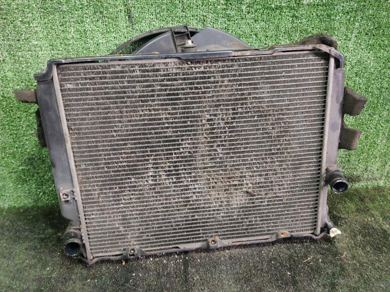 Радиатор основной Toyota Hiace KZH106W 1KZTE 1997 (б/у)