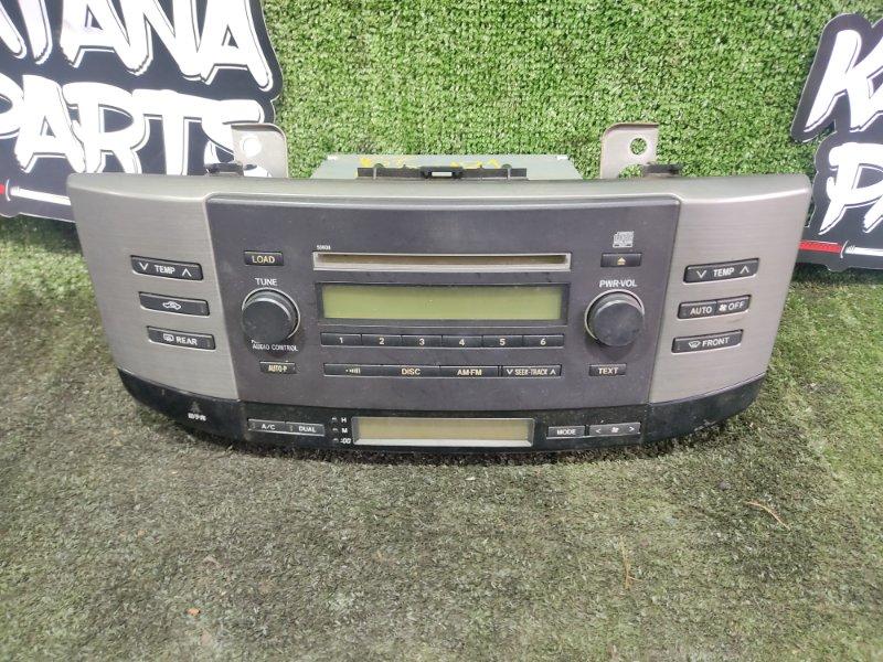 Магнитофон Toyota Mark X GRX121 3GRFSE 2005 (б/у)